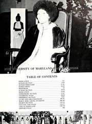 Page 7, 1973 Edition, University of Maryland Eastern Shore Campus - Hawk Yearbook (Princess Anne, MD) online yearbook collection