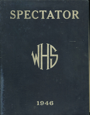 Page 1, 1946 Edition, Watervliet High School - Spectator Yearbook (Watervliet, NY) online yearbook collection