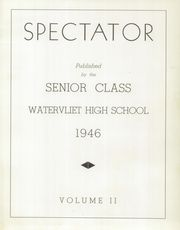 Page 5, 1946 Edition, Watervliet High School - Spectator Yearbook (Watervliet, NY) online yearbook collection