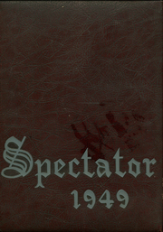 Page 1, 1949 Edition, Watervliet High School - Spectator Yearbook (Watervliet, NY) online yearbook collection