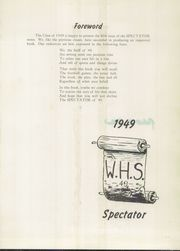 Page 5, 1949 Edition, Watervliet High School - Spectator Yearbook (Watervliet, NY) online yearbook collection