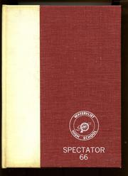 Page 1, 1966 Edition, Watervliet High School - Spectator Yearbook (Watervliet, NY) online yearbook collection