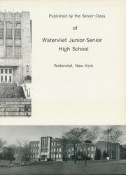 Page 7, 1966 Edition, Watervliet High School - Spectator Yearbook (Watervliet, NY) online yearbook collection