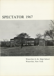 Page 5, 1967 Edition, Watervliet High School - Spectator Yearbook (Watervliet, NY) online yearbook collection