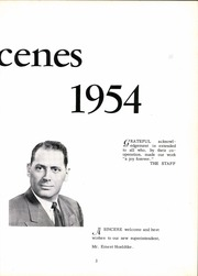 Page 9, 1954 Edition, West Seneca Central High School - Acenes Yearbook (West Seneca, NY) online yearbook collection