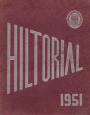 Page 1, 1951 Edition, Hilton Central School - Hilltorial Yearbook (Hilton, NY) online yearbook collection