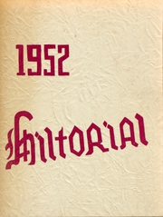 1952 Edition, Hilton Central School - Hilltorial Yearbook (Hilton, NY)