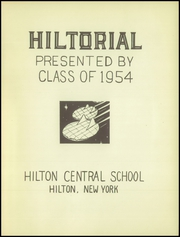 Page 5, 1954 Edition, Hilton Central School - Hilltorial Yearbook (Hilton, NY) online yearbook collection