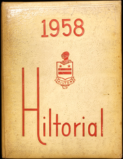 1958 Edition, Hilton Central School - Hilltorial Yearbook (Hilton, NY)