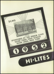 Page 5, 1952 Edition, Silver Creek Central School - Hi Lites Yearbook (Silver Creek, NY) online yearbook collection