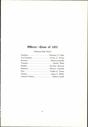 Page 13, 1922 Edition, Hamburg High School - Echoes Yearbook (Hamburg, NY) online yearbook collection