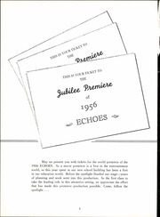 Page 8, 1956 Edition, Hamburg High School - Echoes Yearbook (Hamburg, NY) online yearbook collection