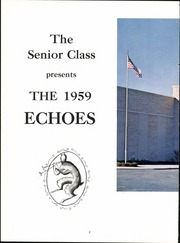 Page 6, 1959 Edition, Hamburg High School - Echoes Yearbook (Hamburg, NY) online yearbook collection