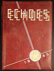 Page 1, 1965 Edition, Hamburg High School - Echoes Yearbook (Hamburg, NY) online yearbook collection