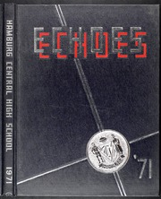 Page 1, 1971 Edition, Hamburg High School - Echoes Yearbook (Hamburg, NY) online yearbook collection