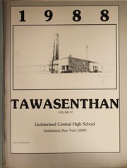 Page 6, 1988 Edition, Guilderland Central High School - Tawasenthan Yearbook (Guilderland Center, NY) online yearbook collection