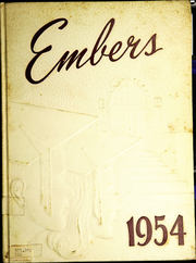 1954 Edition, Eden Central School - Embers Yearbook (Eden, NY)