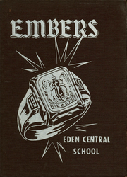 1956 Edition, Eden Central School - Embers Yearbook (Eden, NY)