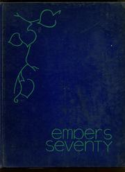 1970 Edition, Eden Central School - Embers Yearbook (Eden, NY)