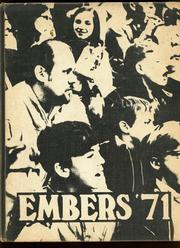 1971 Edition, Eden Central School - Embers Yearbook (Eden, NY)