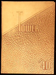 Page 1, 1940 Edition, Amherst Central High School - Tower Yearbook (Amherst, NY) online yearbook collection