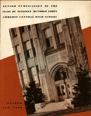 Page 7, 1940 Edition, Amherst Central High School - Tower Yearbook (Amherst, NY) online yearbook collection