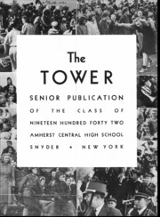Page 6, 1942 Edition, Amherst Central High School - Tower Yearbook (Amherst, NY) online yearbook collection