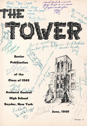 Page 9, 1949 Edition, Amherst Central High School - Tower Yearbook (Amherst, NY) online yearbook collection