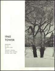 Page 6, 1960 Edition, Amherst Central High School - Tower Yearbook (Amherst, NY) online yearbook collection