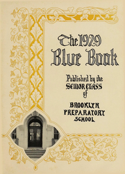 Page 3, 1929 Edition, Brooklyn Preparatory - Blue Book Yearbook (Brooklyn, NY) online yearbook collection