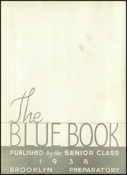 Page 7, 1938 Edition, Brooklyn Preparatory - Blue Book Yearbook (Brooklyn, NY) online yearbook collection