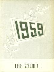 1959 Edition, Richburg Central School - Quill Yearbook (Richburg, NY)