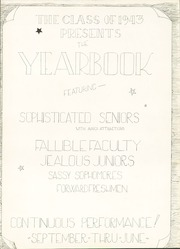 Page 7, 1943 Edition, Bronxville High School - Bronco Yearbook (Bronxville, NY) online yearbook collection