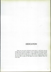 Page 9, 1964 Edition, Bronxville High School - Bronco Yearbook (Bronxville, NY) online yearbook collection