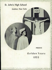 Page 7, 1955 Edition, St Johns High School - The Eagle Yearbook (Goshen, NY) online yearbook collection