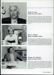 Page 7, 1984 Edition, Rippowam Cisqua School - Yearbook (Bedford, NY) online yearbook collection
