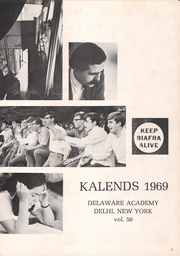 Page 5, 1969 Edition, Delaware Academy and Central School - Kalends Yearbook (Delhi, NY) online yearbook collection