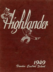 1949 Edition, Dundee High School - Highlander Yearbook (Dundee, NY)