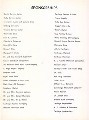 Page 8, 1957 Edition, Carthage Central School - Carthadian Yearbook (Carthage, NY) online yearbook collection