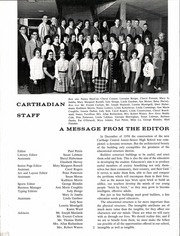 Page 6, 1963 Edition, Carthage Central School - Carthadian Yearbook (Carthage, NY) online yearbook collection
