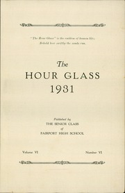 Page 5, 1931 Edition, Fairport High School - Hourglass Yearbook (Fairport, NY) online yearbook collection