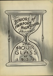 Page 7, 1939 Edition, Fairport High School - Hourglass Yearbook (Fairport, NY) online yearbook collection