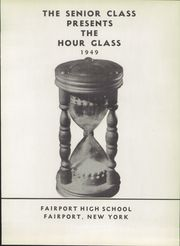 Page 7, 1949 Edition, Fairport High School - Hourglass Yearbook (Fairport, NY) online yearbook collection