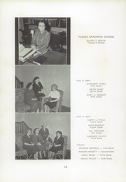 Page 16, 1949 Edition, Albion High School - Chevron Yearbook (Albion, NY) online yearbook collection