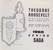 Page 5, 1965 Edition, Theodore Roosevelt High School - Saga Yearbook (Bronx, NY) online yearbook collection