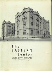 Page 3, 1956 Edition, Eastern District High School - Eastern Senior Yearbook (Brooklyn, NY) online yearbook collection