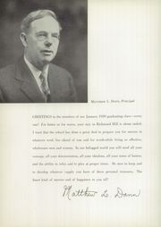 Page 10, 1939 Edition, Richmond Hill High School - Archway Yearbook (Richmond Hill, NY) online yearbook collection
