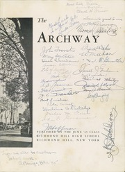 Page 7, 1945 Edition, Richmond Hill High School - Archway Yearbook (Richmond Hill, NY) online yearbook collection