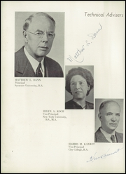 Page 8, 1950 Edition, Richmond Hill High School - Archway Yearbook (Richmond Hill, NY) online yearbook collection