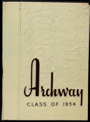 1954 Edition, Richmond Hill High School - Archway Yearbook (Richmond Hill, NY)